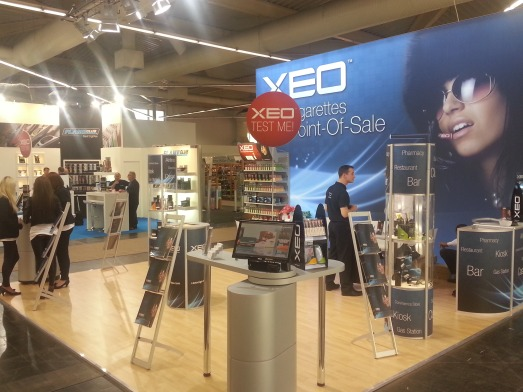 XEO at Inter Tabac 2012, Germany